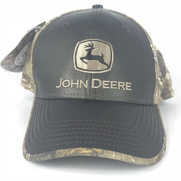 3b8bf333f7c John Deere Tractors Realtree Camo Adjustable Hat